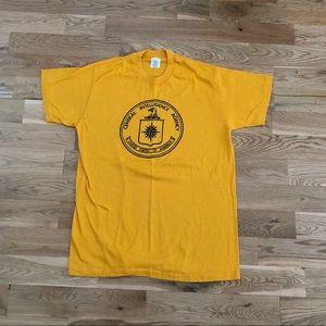 Vintage Vtg 80's CIA Central Intelligence T-Shirt